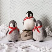 Corrine Lapierre Baby Penguins Felt Craft Kit
